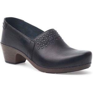Dansko leather clogs